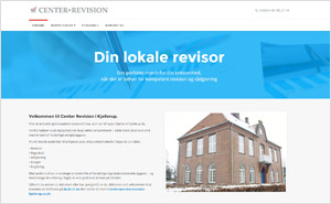 Hjemmeside Center Revision i Kjellerup