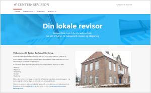 Hjemmeside Center Revision i Kjellerup