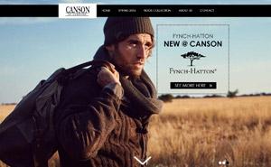 Webdesign til Canson i Holstebro
