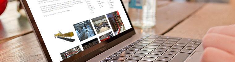 Webdesign for virksomhed i Lemvig