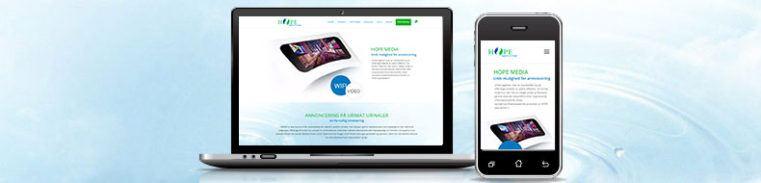 Hope Media Wordpress Webshop