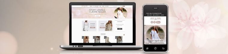 Just-a-girl Wordpress Webshop